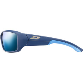 Julbo Run Polarized 3+ Aurinkolasit Miehet, matt blue/blue/grey flash blue